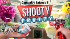 SHOOTY FRUITY, PlayStation VR Gameplay Episode 1.