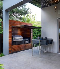 Outdoor Barbque idea