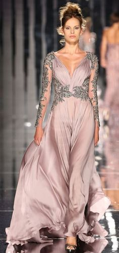 Abed Mahfouz.  This is my style....the sleeves...ornamentation and the draping at top.