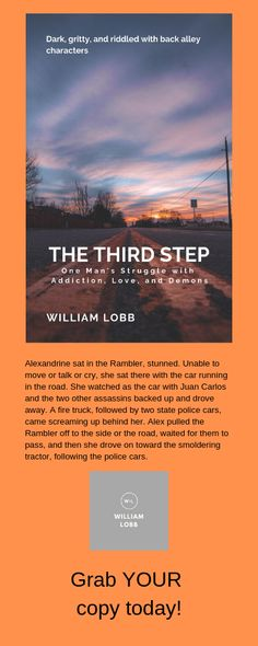 - The Third Step - William Lobb - Mystery, Thriller & Suspense - Bublish Book Bubble Amazon Reviews, Type Setting, Amazon Kindle, Thriller, Storytelling, Third, Mystery, Ebooks, Bubbles