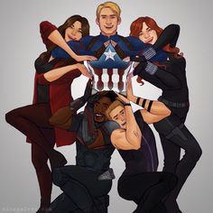 drawing Captain America Steve Rogers avengers Clint Barton Hawkeye Natasha Romanoff black widow xl scarlet witch Wanda Maximoff Falcon sam wilson SQUAD GOALS squad challenge I CANT GET ENOUGH OF THESE SOMEBODY PHOTOSHOP THE AB WINDOW
