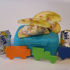 Tartines de pommes au Kiri® Kiri, Micro Onde, Tacos, Mexican, Ethnic Recipes, Desserts, Food, Recipe, Tailgate Desserts