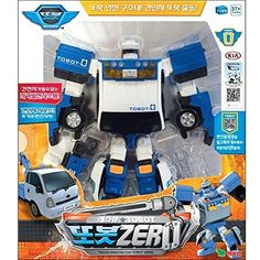 Tobot Zero Transformer Robot Toy KIA Motors Diecast Cars Vehicles for sale online Transformer Robot Toy, Kia Motors, Robot Action Figures, Toy Trucks, Plastic Models, Cars For Sale, Diecast, Gifts For Kids, Transformers Robots