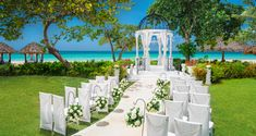 Sandals Resorts Weddings   White Romance Inspiration