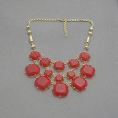 bubble statement necklaceholiday partybridesmaid by Arkpearl