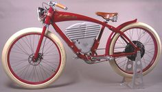 Our bike is on Pinterest!!!  Vintage E-Tracker: A very modern retro electric bicycle