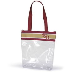 Florida State University Clear Gameday Stadium Tote Bag S…