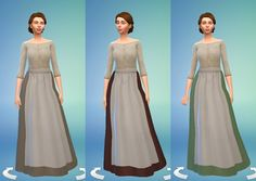 TS4: Medieval Peasant's Dress - History Lover's Sims Blog
