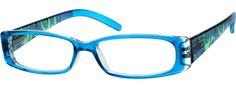BluePlastic Full-Rim Frame with Spring 268116