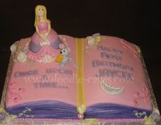 Doodle Cakes Once Upon A Time Princess Cake