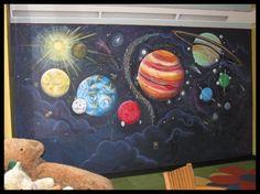 Outer Space Mural by Bernadette Baum- NJ