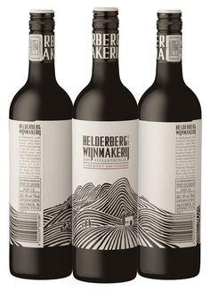 creative bottle label design