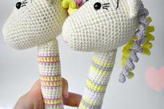 Amigurumi Rattle Free Pattern : Leithygurumi tatyana kostochenkova amigurumi unicorn Çıngırak