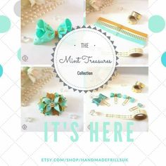 The Mint Treasures Collection the winter collection as designed by handmadefrills