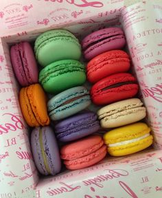 macaroons (not the correct spelling, but  oh so gorgeous, just like Bunny Alister) #Macarons