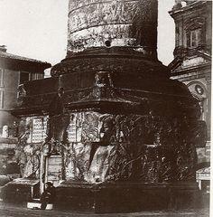 Base della Colonna Traiana Anno: 1860 ca.