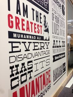 Wall Mural In the Office