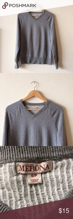 V-neck sweater Great used condition. Merona Sweaters V-Necks
