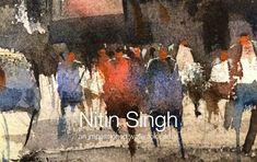 Watercolor demo by nitin singh