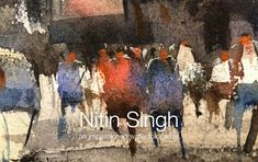 Watercolor demo by nitin singh