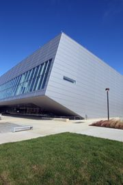 The new Wolfe Center for the Arts