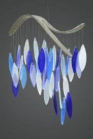 Risultati immagini per sea glass wind chime