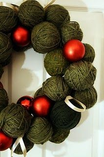 a fast way to use up all that extra yarn, haha!