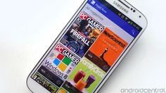 Google Play Magazines app updated with new UI