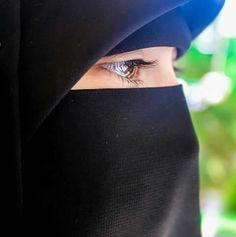 Hijab Niqab, Muslim Hijab, Mode Hijab, Hijab Outfit, Arab Girls Hijab, Muslim Girls, Beautiful Muslim Women, Beautiful Hijab, Beautiful Eyes