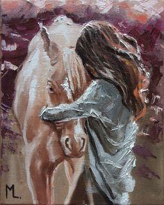 Monika Luniak - Paintings for Sale Horse Drawings, Art Drawings, Elephant Illustration, Skull Illustration, Face Painting Designs, Painting Tutorials, Painting People, Airbrush Art, Hand Art