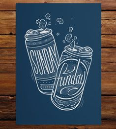 Graphic Design - Graphic Design Ideas  - Sunday Funday Art Print by DSF Clothing Company and Art Gallery on Scoutmob   Graphic Design Ideas :     – Picture :     – Description  Sunday Funday Art Print by DSF Clothing Company and Art Gallery on Scoutmob  -Read More –