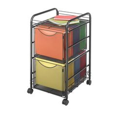 File Carts – Ultimate Office Extra Storage Space, Storage Spaces, Storage Area, Office Organization Tips, Organizing Ideas, Office Ideas, Office Designs, Paper Organization, Office Storage