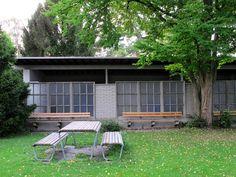 Max Frisch - Das Letzibad in Zürich (1942 - 49) #Architektur #Literatur #Schweiz #Zürich