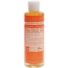 Dr Bronners Tea Tree Castile Liquid Soap 16oz *** Check this awesome product by going to the link at the image.(This is an Amazon affiliate link and I receive a commission for the sales)