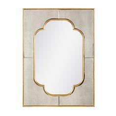 "Master Bathroom: Cassia Mirror Bungalow 5 23.5""w x 32""h"