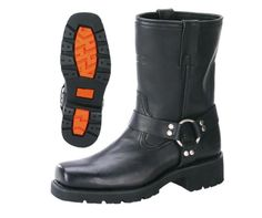 My beloved XElement men's motorcycle harness boots. Most comfortable boots I've had yet.