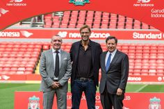 Jurgen Klopp was officially unveiled as the new Liverpool manager to a packed Anfield press room on Friday morning. Real Soccer, Soccer Fans, Juergen Klopp, Uefa Super Cup, This Is Anfield, Club World Cup, Best Football Team, You'll Never Walk Alone, Uefa Champions League