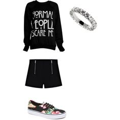 A fashion look from March 2015 featuring Vans sneakers. Browse and shop related looks.