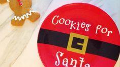 Cookies for Santa Plate Cookies For Santa Plate, Cricut Explore Air, Cricut Design, Diy Projects, Plates, Create, Licence Plates, Dishes, Plate