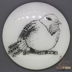 CHARMING FRIDGE MAGNET BIRD WALL DECOR DIY WHITE STONE ZR3000171 #ZL #FridgeMagnet