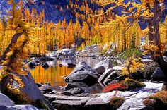 Leprechaun Lake, The Enchantments, Washington State