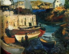 George Bellows MATINICUS HARBOR, LATE AFTERNOON