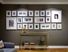 #CandiceTellsAll  #WatchandPin  Candice included this family photo wall in the living room to showcase some of the family's favorite memories.   http://www.hgtv.com/candice-tells-all/show/index.html?soc=pinterest