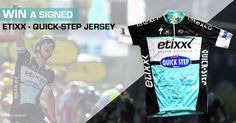 Win a one-of-a-kind autographed Etixx – Quick-Step jersey
