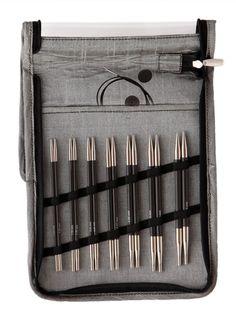 KnitPro Karbonz Interchangeable Deluxe Needle Set
