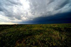 Prairie rain, Cimarron Natl Grasslands, KS.