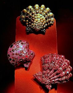 JAR Seashell Brooches from 1990 to 2009
