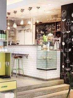 Fashion & Food Kapstadt - Diy İdeas for Home Cafe Restaurant, Cafe Bar, Restaurant Design, Coffee Shop Design, Cafe Design, New York Essen, Ideas Emprendedoras, Bar A Vin, Dining Room Art