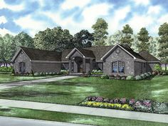 Bellechase Trail Ranch Home Plan 055D-0634 | House Plans and More