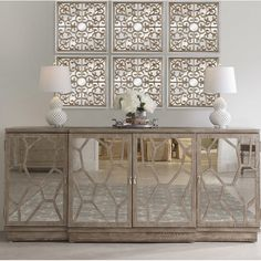 Unique Bargains Dormody Sideboard By Bungalow Rose Mirrored Furniture, Home Decor Furniture, Furniture Design, Cheap Furniture, Foyer Decorating, Interior Decorating, Model Home Decorating, Cortinas Country, Sideboard Decor